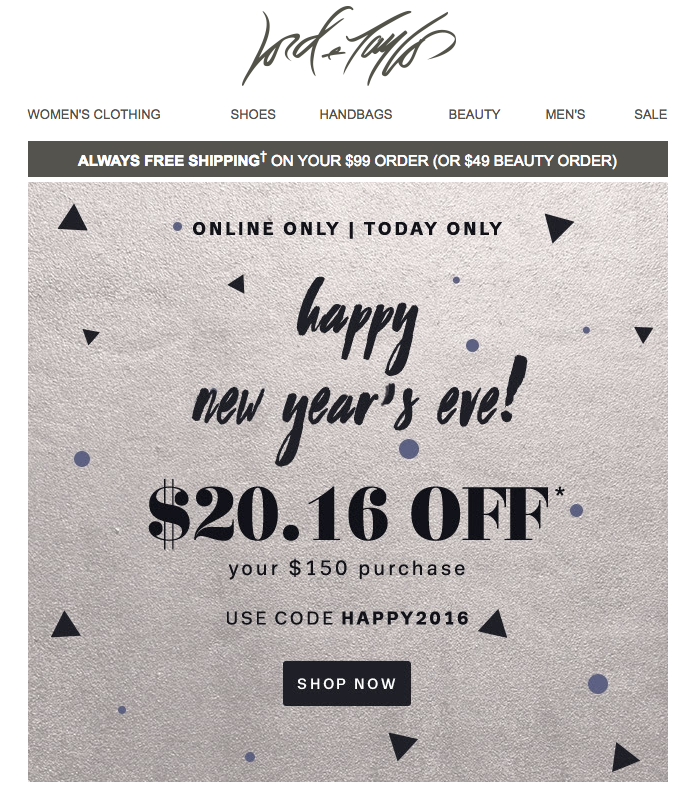 7 Fresh Design Ideas for Your New Year\'s Email Marketing - MailUp Blog