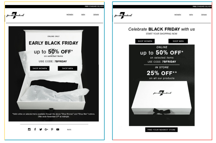 eb73c7715 ... start to insert teaser messages about Black Friday into your generic  promotional emails. As the date approaches, intensify the specific  communications, ...