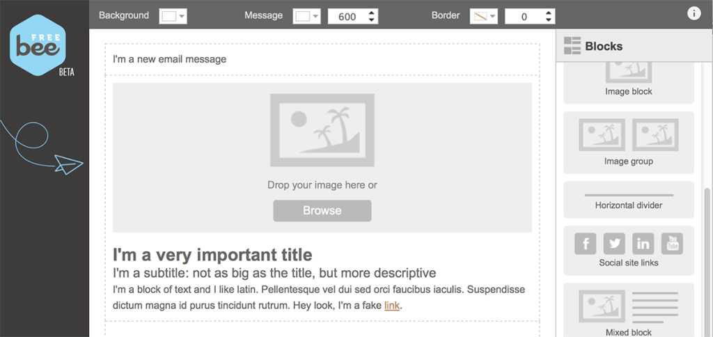 whitespace is one of the major email marketing design trends