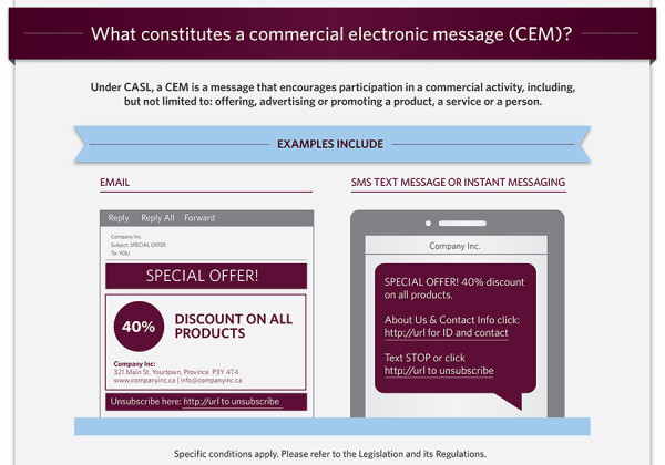 CASL infographic CEM