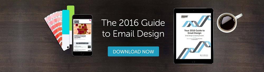 Email design whitepaper