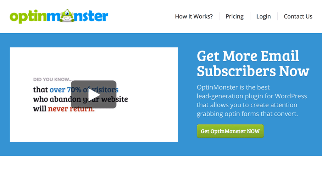Grow your email list with Opt-in Monster