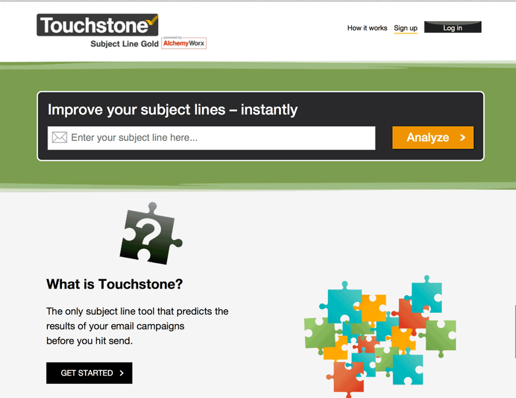 use Touchstone to test email subject lines