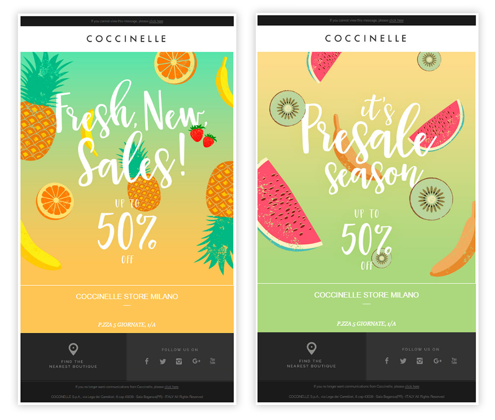Summer email template 01