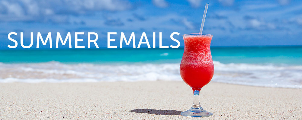 Summer email templates