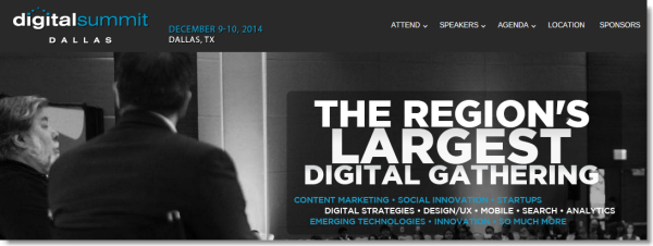 Meet MailUp at Dallas Digital Summit 2014