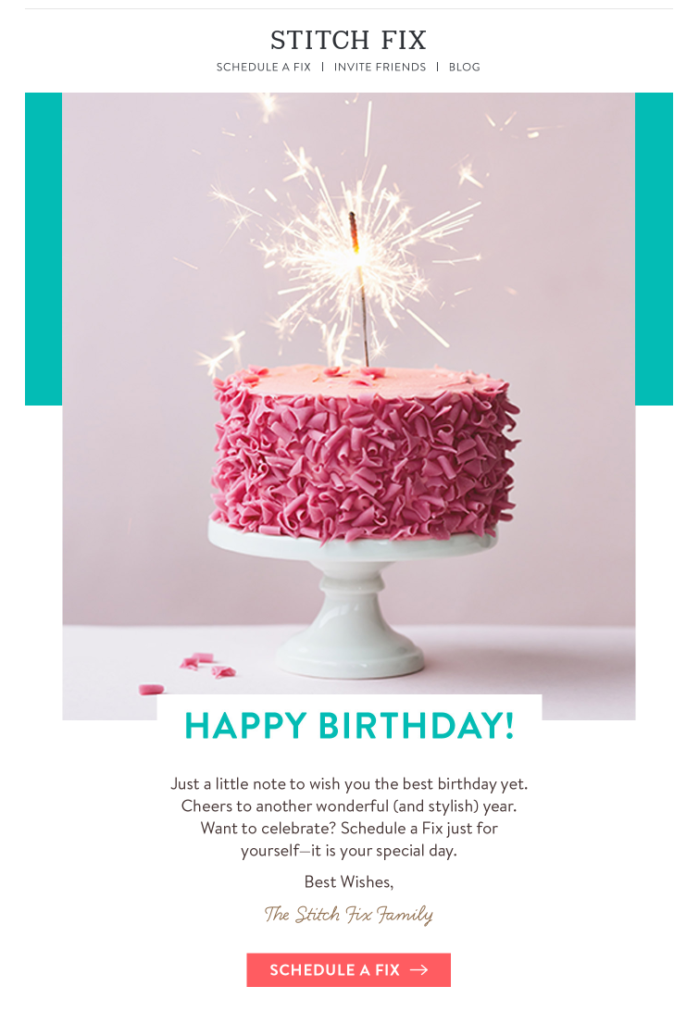 Why Send A Birthday Email