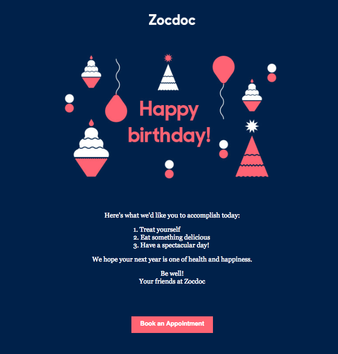 This Type Of Email It Has To Get Straight The Heart Which Can Only Do With Well Designed Cheerful Colorful And Stylish Graphics
