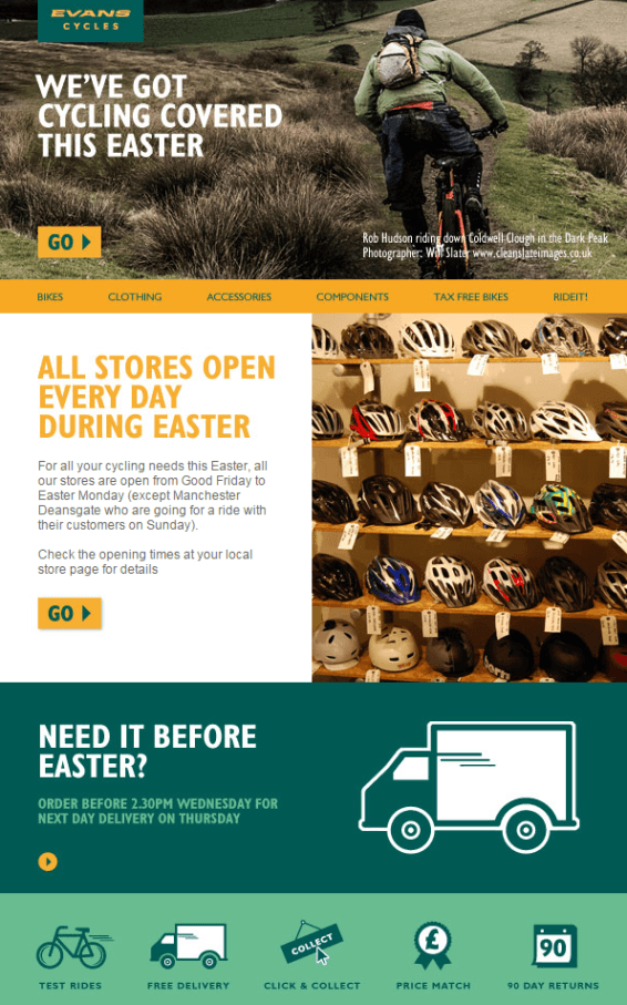 4 ideas to revamp your easter emails mailup blog easter emails negle Image collections