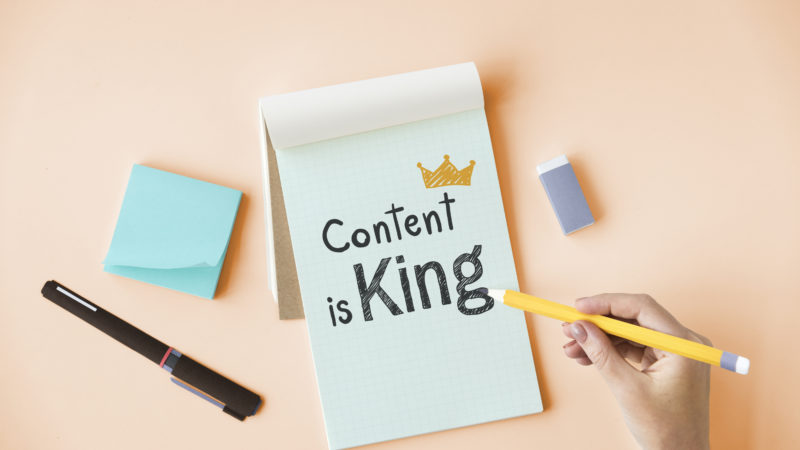 covid impact on content marketing