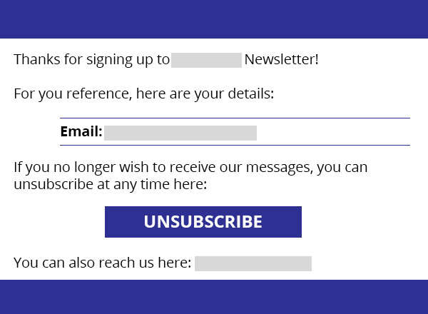 Welcome Email: What not to do