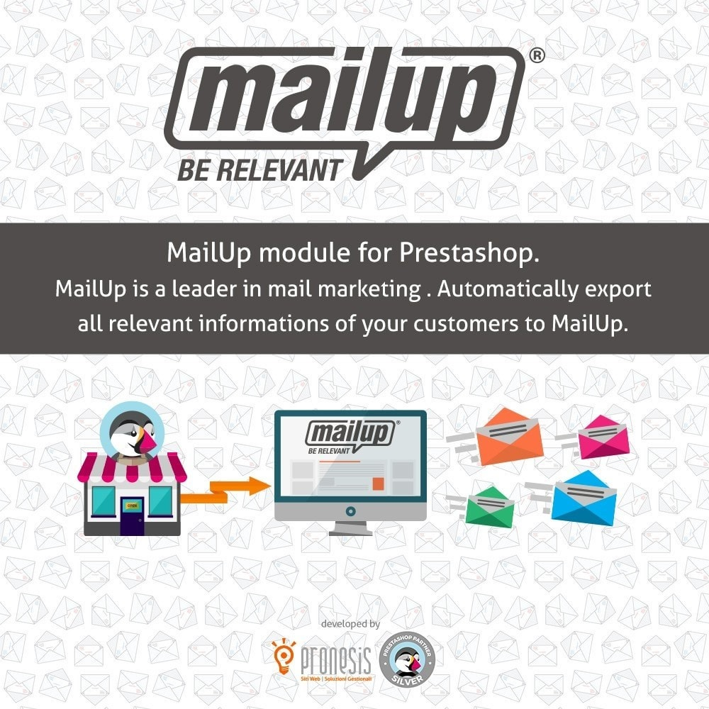 prestashop mailup integration