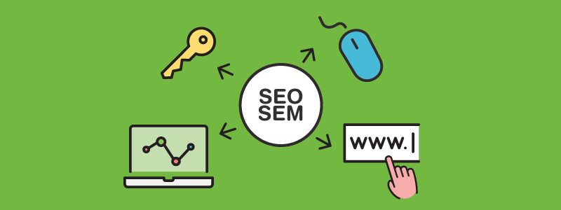 SEO & SEM to improve content positioning.