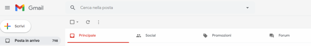gmail tabbed inbox